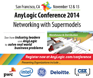 The AnyLogic Conference 2014 Program Update