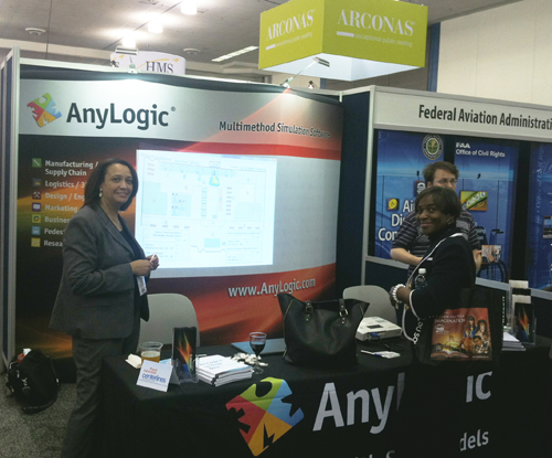 AnyLogic North America Attends ACI-NA
