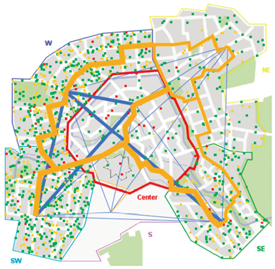 Agent-Based and Land Use Transport Interactions Modeling